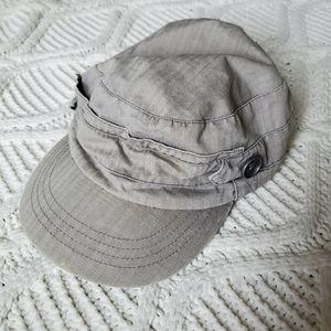 Roxy Tan Pageboy Hat